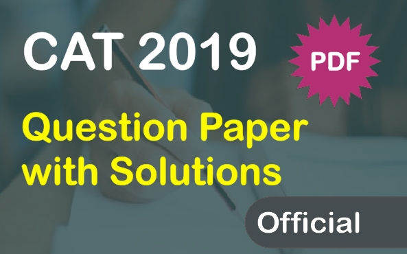 CAT-2019-question-papers